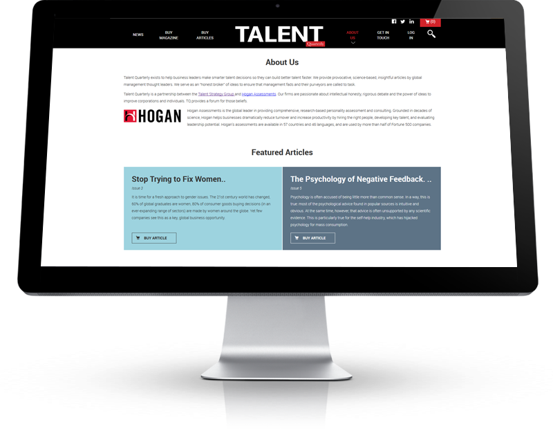 Talent Quarterly